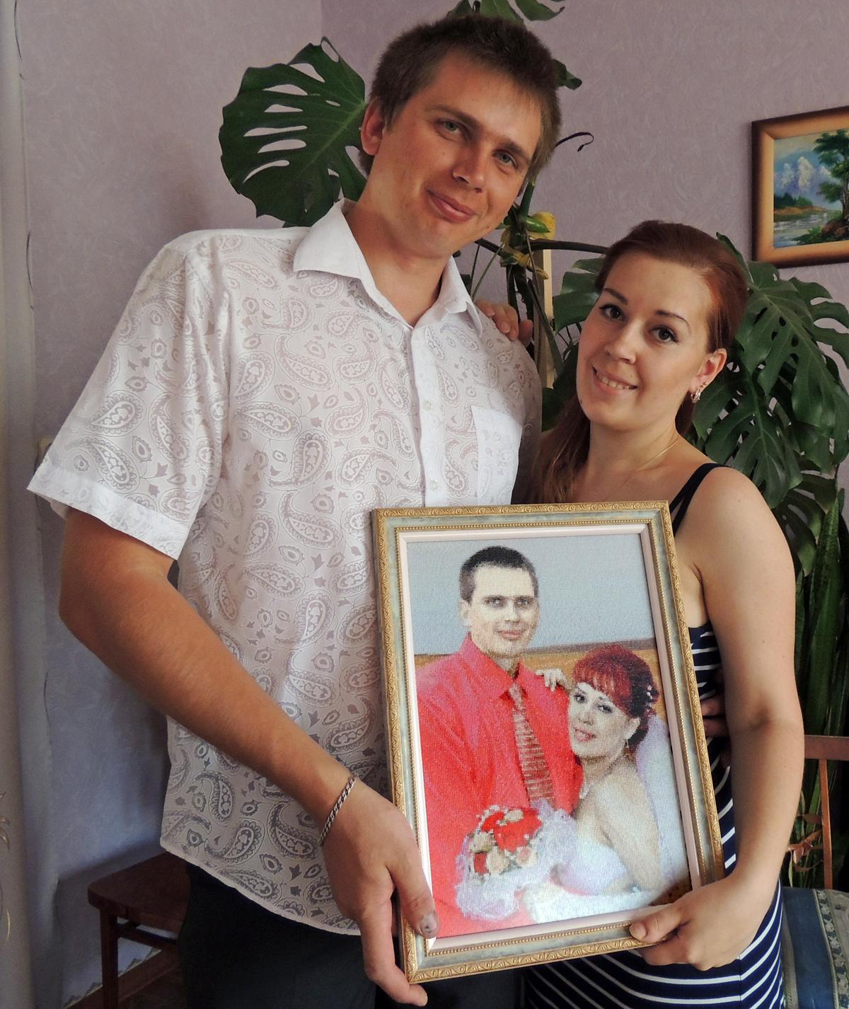 Схемы вышивки крестом к годовщине свадьбы